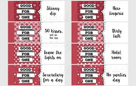 Relationship Coupon Book Naughty Coupon Book 16 Printable Coupons For Boyfriend