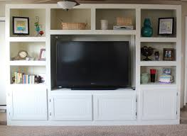 Living Room Entertainment Living Room Renovation With Diy Entertainment Center For Flat