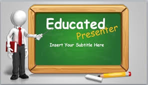 Teaching Powerpoint Backgrounds Animated Blackboard Template For Educational Powerpoint
