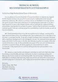 Recommendation Letter Formatting Medical School Recommendation Letter Sample Stop Torturing