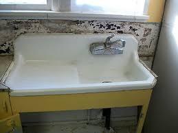 antique vintage 1937 farm kitchen sink