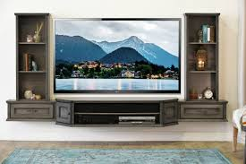 view in gallery french shabby chic floating tv stand entertainemnt center from woodwaves