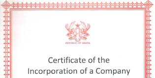 Example Of Share Certificate Gorgeous REGISTERING A BUSINESS IN GHANA COMPANY Firmus Advisory