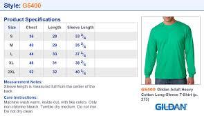 Gildan Tee Shirt Size Chart Details About Gildan Mens Long Sleeve Taped Neck Rib Knit Cuffs Bottom Hem T Shirt G5400