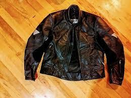 Mens Teknic Motocross Leather Jacket M 44 110 00