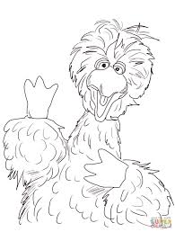 Adult Big Bird Coloring Pages Big Bird Coloring Pages To Print Big