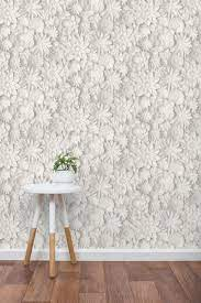 Fine Decor Dimensions Floral White ...