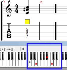 F2 Chord Piano