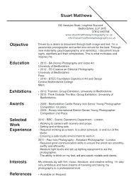 Wedding Photographer Resume Photography Job Description Photographer