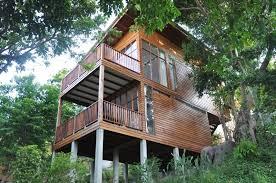 Koh Phangan Haad Gruad Beach Bungalows Thailand Asia Haad Gruad Treehouse Koh Phangan