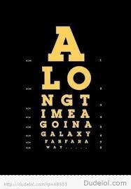 Epic Eye Exam Along Time Ago In A Galaxy Star Wars