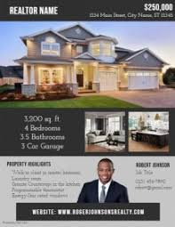 Customize 1 460 Real Estate Flyer Templates Postermywall