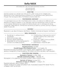 New Graduate Nursing Resume Samples Nursing Resume Examples New Grad
