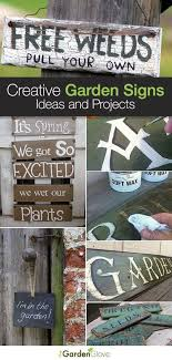 creative garden sign ideas and projects lots of great ideas and tutorials