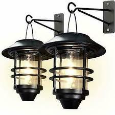 otdair solar wall lantern outdoor 2 pcs
