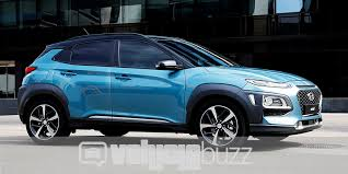 2018 hyundai kona release date. plain kona photograph of blue 2018 hyundai kona on the road and hyundai kona release date