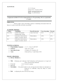 Science Resume Examples Science Resume Templates Amazing Science ...