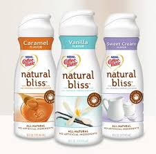 i did however make a healthy switch a couple months ago from the artificially flavored myriad of coffee creamers on the market to coffee mate s natural