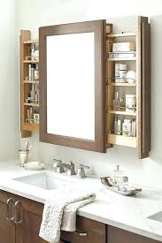 bathroom cabinet with shelves big bathroom mirror