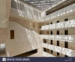 Forum Design Qatar Atrium View With Midday Sun The Cultural Forum Doha Qatar