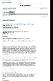 Job With Relocation Assistance Digital Signal Processing Engineer Job At Northrop Grumman
