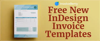 Indesign Invoice Template Free New InDesign Invoice Templates InvoiceBerry Blog 3