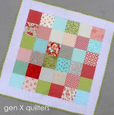 GenXQuilters: Modern Traditional Quilting, Block of the Month ... & simple baby quilt Adamdwight.com
