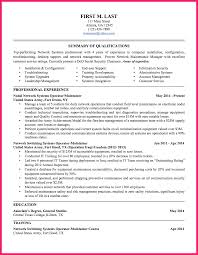Military To Civilian Resume Bio Letter Format