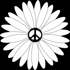 Small Picture impressive flowers and peace signs coloring pages with peace sign