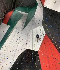 world s tallest indoor climbing wall