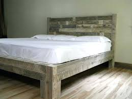 Rustic Wood King Size Bed Bedroom Rustic Bed With Storage Rustic ...