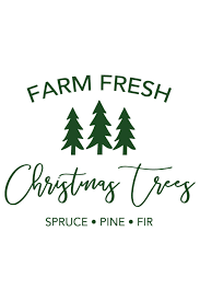 ✓ free for commercial use ✓ high quality images. Farm Fresh Christmas Trees Svg File Chicfetti