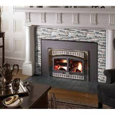 glass tile fireplace crystal glass tile interlocking black brown mosaic bath kitchen fireplace decor glass tile