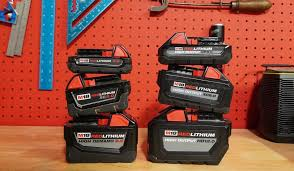 A Complete Guide To Milwaukee Tools M18 Battery Lineup