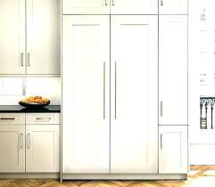 refrigerator end panel kitchen cabinet