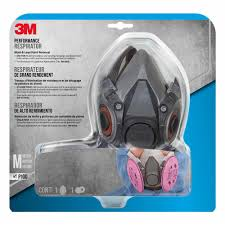 Scott Respirator Cartridges Chart 3m Medium Mold And Lead Paint Removal Respirator Mask