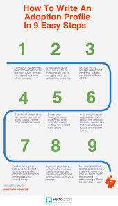 How To Write A Profile How To Write An Adoption Profile In 9 Easy Steps Infographic
