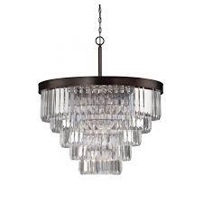 savoy house tierney 9 light chandelier in burnished bronze