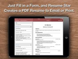 Resume Star Impressive Resume Star Pro CV Maker And Resume Designer With PDF Output To