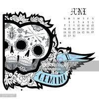 Gemini Tetování Vektory Z Knihovny Clipartme