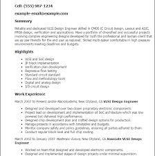 Most Ic Layout Engineer Sample Resume Terrific Download Com Resume