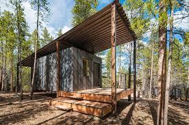 14 Prefab Micro Cabins in Colorado Woods Showcase Student Design