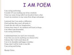 I Am Poems Ppt I Am Poem Powerpoint Presentation Id 1837244