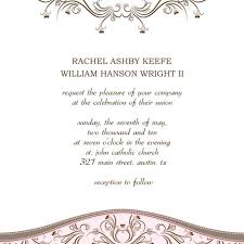 Sample Wedding Invitation Template Sample Invites Wedding Invitation