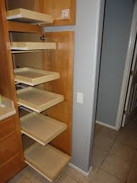 Kitchen Pantry Shelf Kitchen Pantry Cabinet With Pull Out Shelves Home Design Ideas