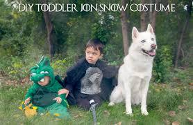 diy toddler jon snow costume for under 25