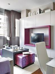 modern ethnic living room small tv. Living Room : A Beautiful Decorate Modern Small Ideas Black Tv, Vases, Flowers, Table With Pink Patterned Benches And Also White Curvy Ethnic Tv