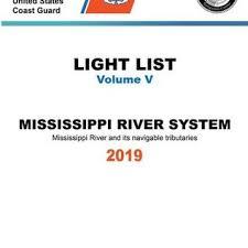 Uscg Light List 5 2019 Mississippi River System