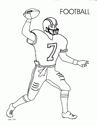 Online coloring pages for kids and parents. Football Coloring Pages For Kids Printable Coloring Home