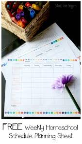 Weekly Checklist Free Homeschool Planner Weekly Checklist School Time Snippets